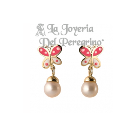 18 KLT GOLD EARRINGS
