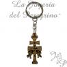 Portachiavi Cruz de Caravaca Fatto di legno