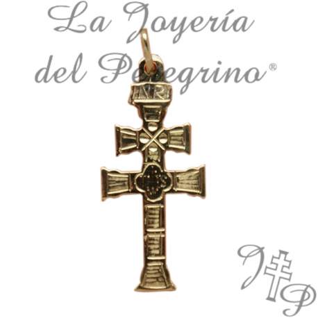 CROSS OF CARAVACA GOLD 9 KLT