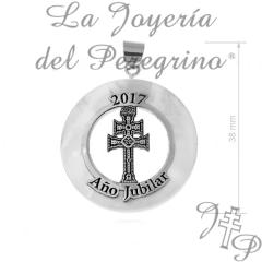 COLGANTE MADREPERLA AÑO JUBILAR 2017