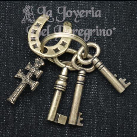 LLAVERO CRUZ DE CARAVACA