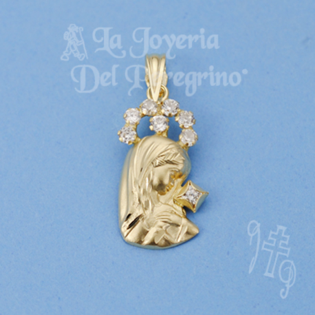 MEDAILLE VIERGE FILLE