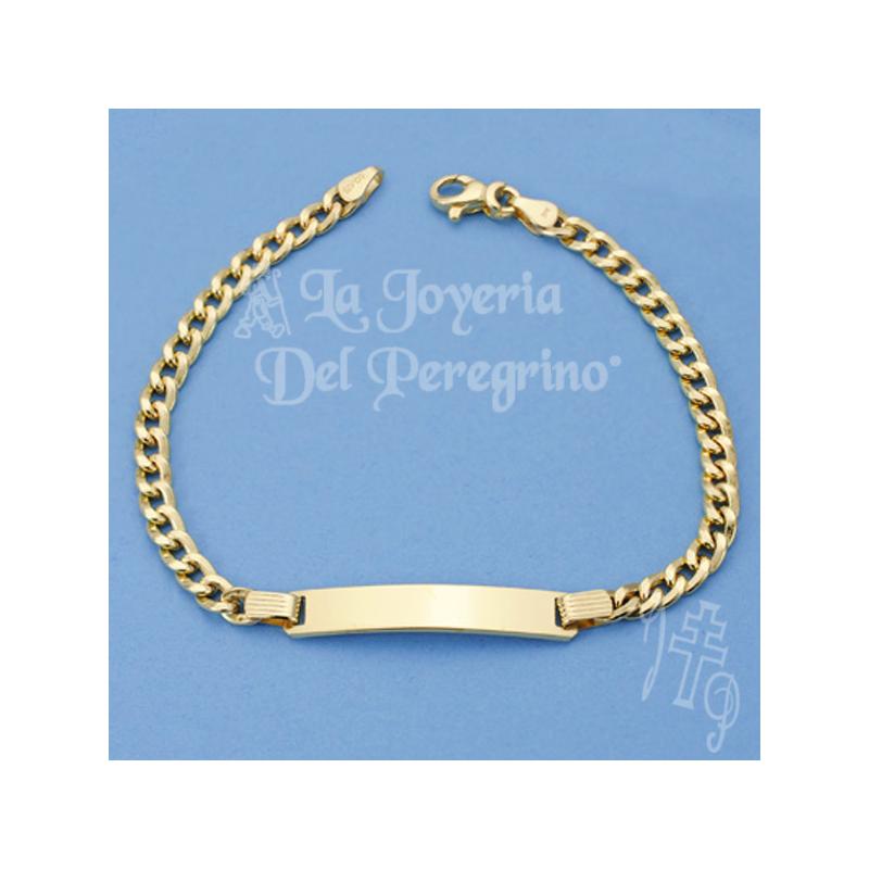 9f9b97f381b8 ESCLAVA DE ORO 9 KLT - La Joyería del Peregrino