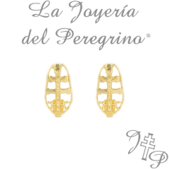 GOLD EARRINGS 18 KLT