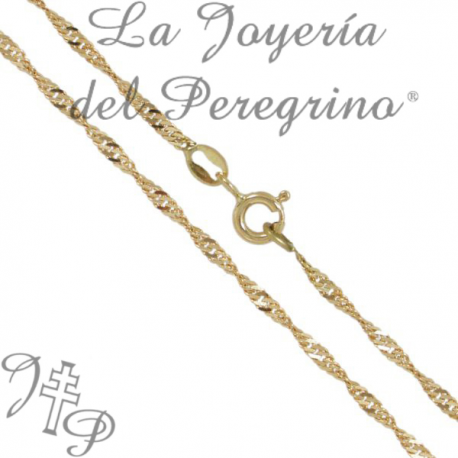 025d379b0e23 CADENA SINGAPUR 45 CMS 1.2 MM - La Joyería del Peregrino