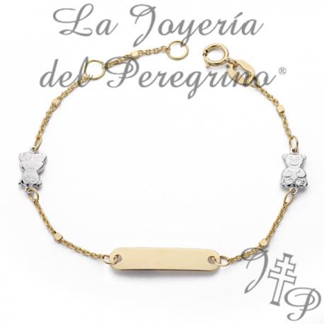 7df77e70b8af ESCLAVA DE ORO PARA BEBE - La Joyería del Peregrino