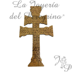 Cruz de Caravaca Made of wood