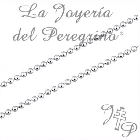 CATENA DEL PLATA DE LEY (RODIADA)