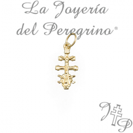 CARAVACA CROSS WHITE GOLD