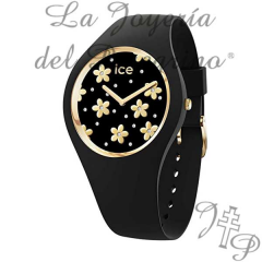 RELOJ ICE WATCH 016668 ICE FLOWER PRECIOUS BLACK