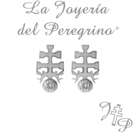 CROSS EARRINGS CARAVACA