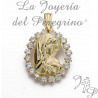 MEDAILLE VIERGE FILLE 16208