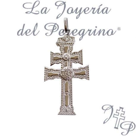Ciondolo croce CARAVACA