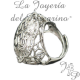 REGLABLE EN ARGENT STERLING RING