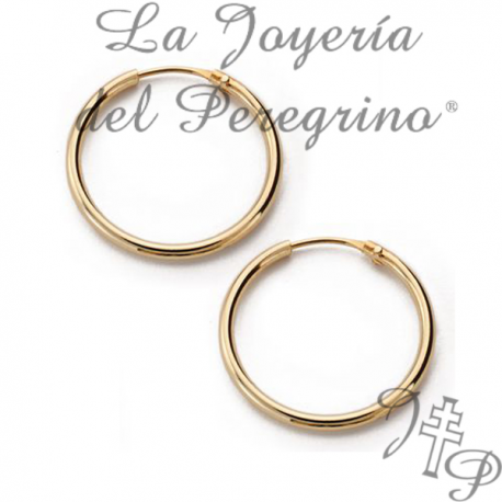 7c1485111e27 AROS DE ORO 18 KILATES - La Joyería del Peregrino
