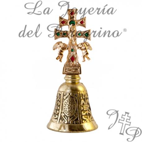 BELL SILVER CROSS CARAVACA
