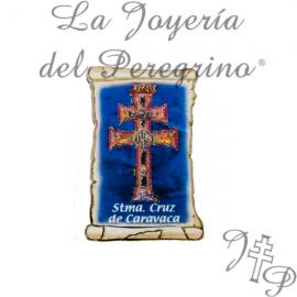 MAGNET PERGAMENA CROSS CARAVACA