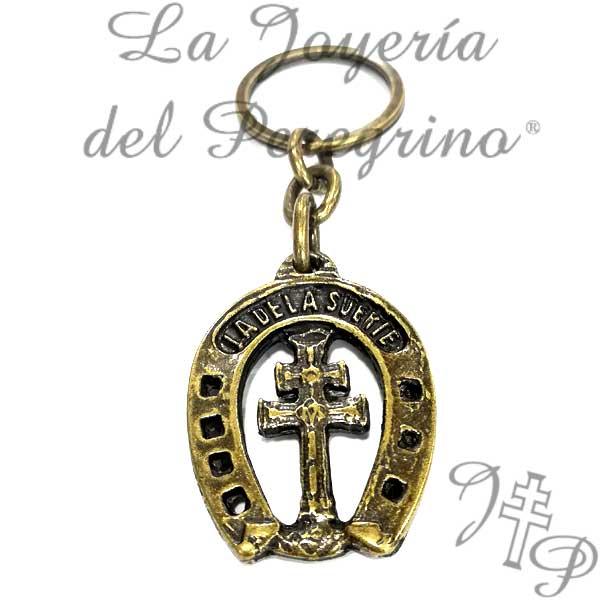 LLAVERO CRUZ DE CARAVACA - La Joyería del Peregrino 4169168e4f4